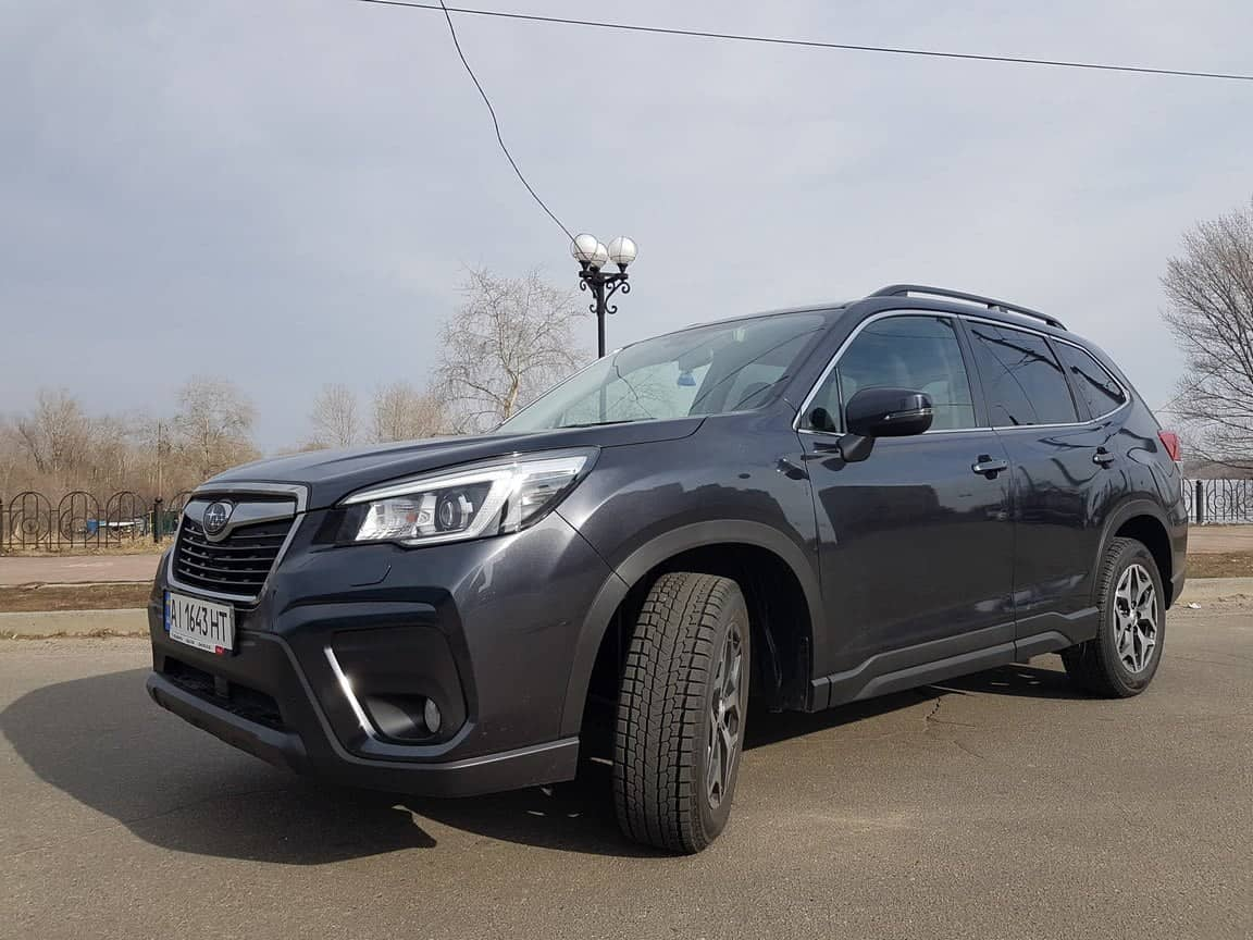 reliable car with a driver for your trip Subaru Forester